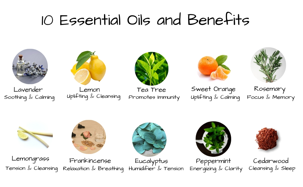 diffuser oil pure peppermint oil essential oils for aromatherapy aromatherapy essential oils set