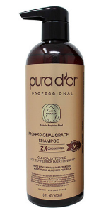 Amazon.com: PURA D'OR Anti-Hair Thinning Shampoo