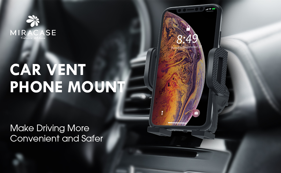 Car Air Vent Phone Holder Mount Make Driving More Convenient and Safer