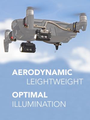 Aerodynamic Lightweight Optimal Illumination