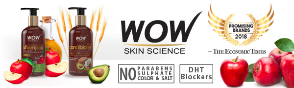 WOW SKIN SCIENCE Brand logo - Promising Brands of 2018 as attributed by The Economic Times