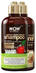 Amazon.com : WOW Coconut Milk Shampoo - DHT Blockers Slow ...
