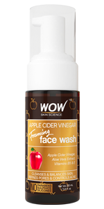 Amazon.com: WOW Apple Cider Vinegar Foaming Face Wash