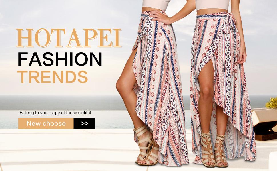 c25055d0f4 Women s Floral Chiffon Long Maxi Skirt · Women Crochet Knitted Kimono  Beachwear Cover Up · Women V Neck Printed Summer Beach Mini Dress · Women s  Elastic ...