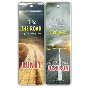 Amazon com : Creanoso Inspiring Running Inspirational Sayings
