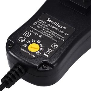 Amazon.com: SoulBay [Upgraded Version] Universal AC/DC Adapter Multi ...