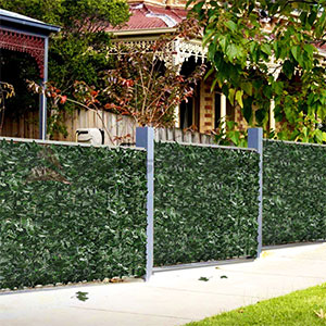 Amazon.com : Goasis Lawn Artificial Hedge Fence Panels