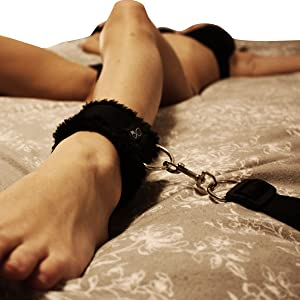 Bed Restraints for Sex with Adjustable Straps