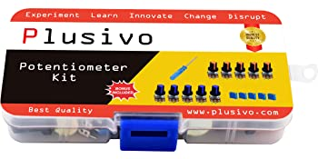 analog potentiometer module Knob-Type microcontroller resistive adapter audio stereo pot volume