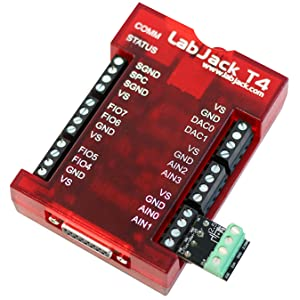 LabJack T4 T-Series Analog Input Vref