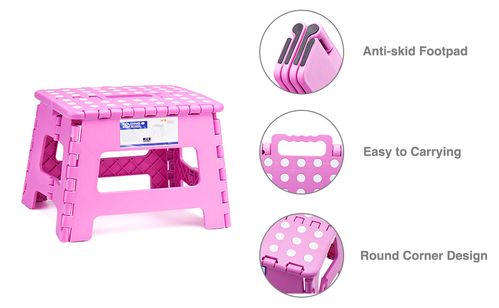 The skid resistant top and Round Corner Design will give you amazing comfort and safety for everyone
