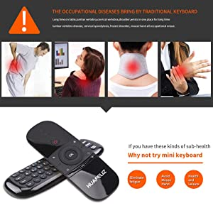 wireless mini keyboard best portble keyboard mini  mini pc keyboard Smart TV Remote Controller