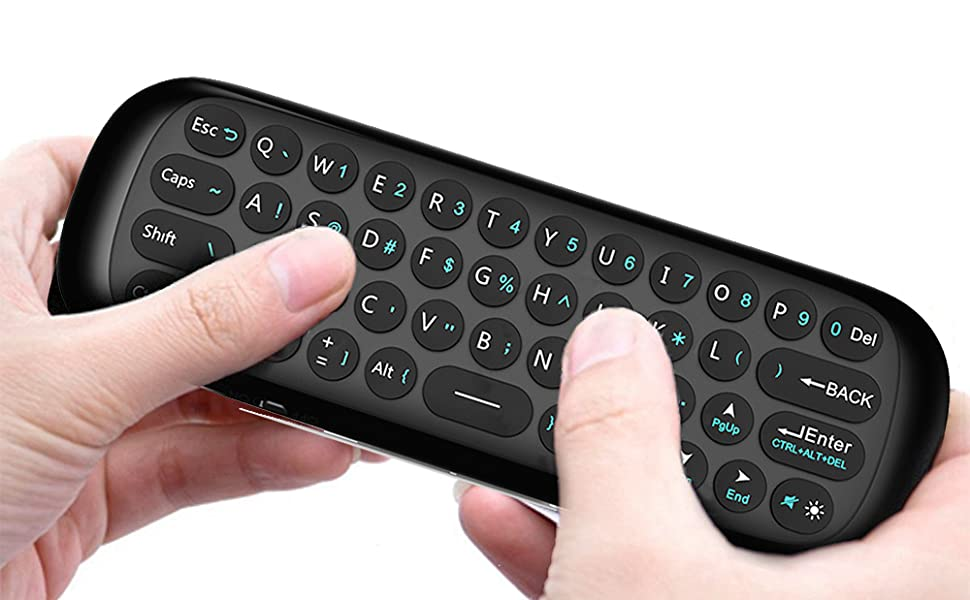 Bluetooth Mini Wireless Keyboard for Apple TV and Apple TV 4K