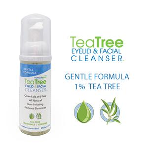 Amazon.com: Gentle Formula Tea Tree Eyelid and Facial