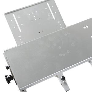 "Monitor mount: VESA100 x 100 standard compliant (MAX 3 x 24"" Monitors or 1 x 50"" Monitor or"