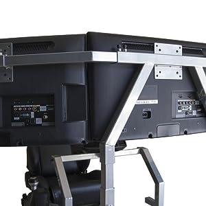 """Monitor mount: VESA100 x 100 standard compliant (MAX 3 x 24"""" Monitors or 1 x 50"""" Monito"""