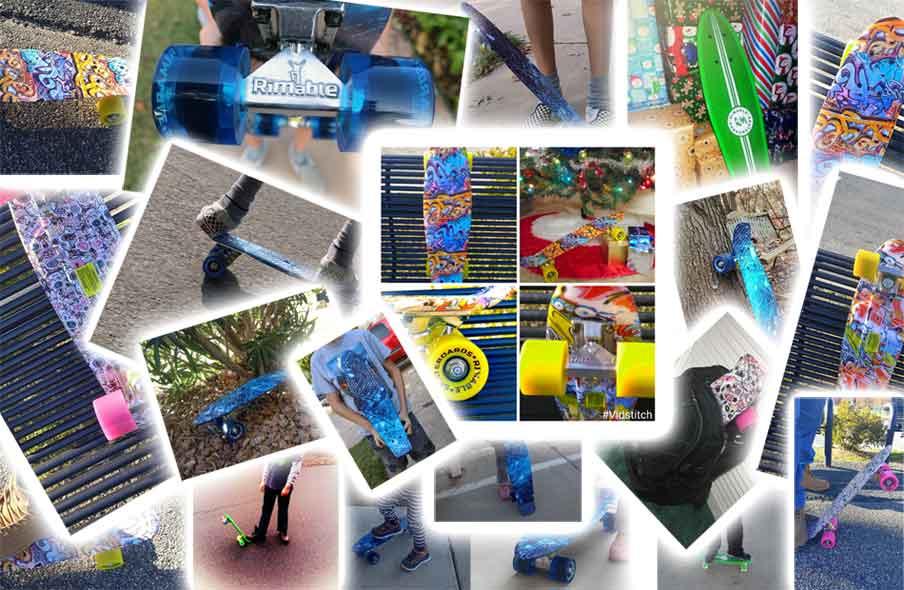 Amazon.com : Rimable Complete 22\u0026quot; Skateboard Black \u0026 Green : Sports \u0026 Outdoors