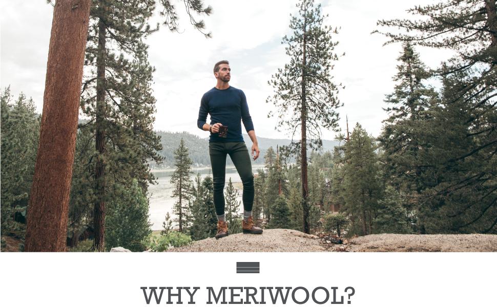 meriwool features natural wicking, versatile layers, softness, comfortability & natural materials