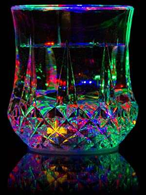 Flashing LED light up tumblers