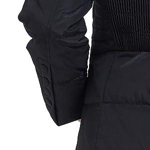 Amazon.com: ilishop - Maxiabrigo invernal con relleno de ...