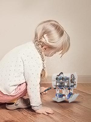 Amazon com: ELEGOO Penguin Bot Biped Robot Kit for Arduino
