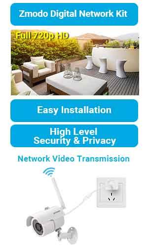 Amazon Com Zmodo 4ch 1080p Hdmi Nvr With 4 X 720p High
