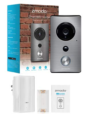 zmodo greet wifi video doorbell with zmodo beam smart. Black Bedroom Furniture Sets. Home Design Ideas