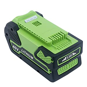 Replacement Lithium Battery for GreenWorks 29472
