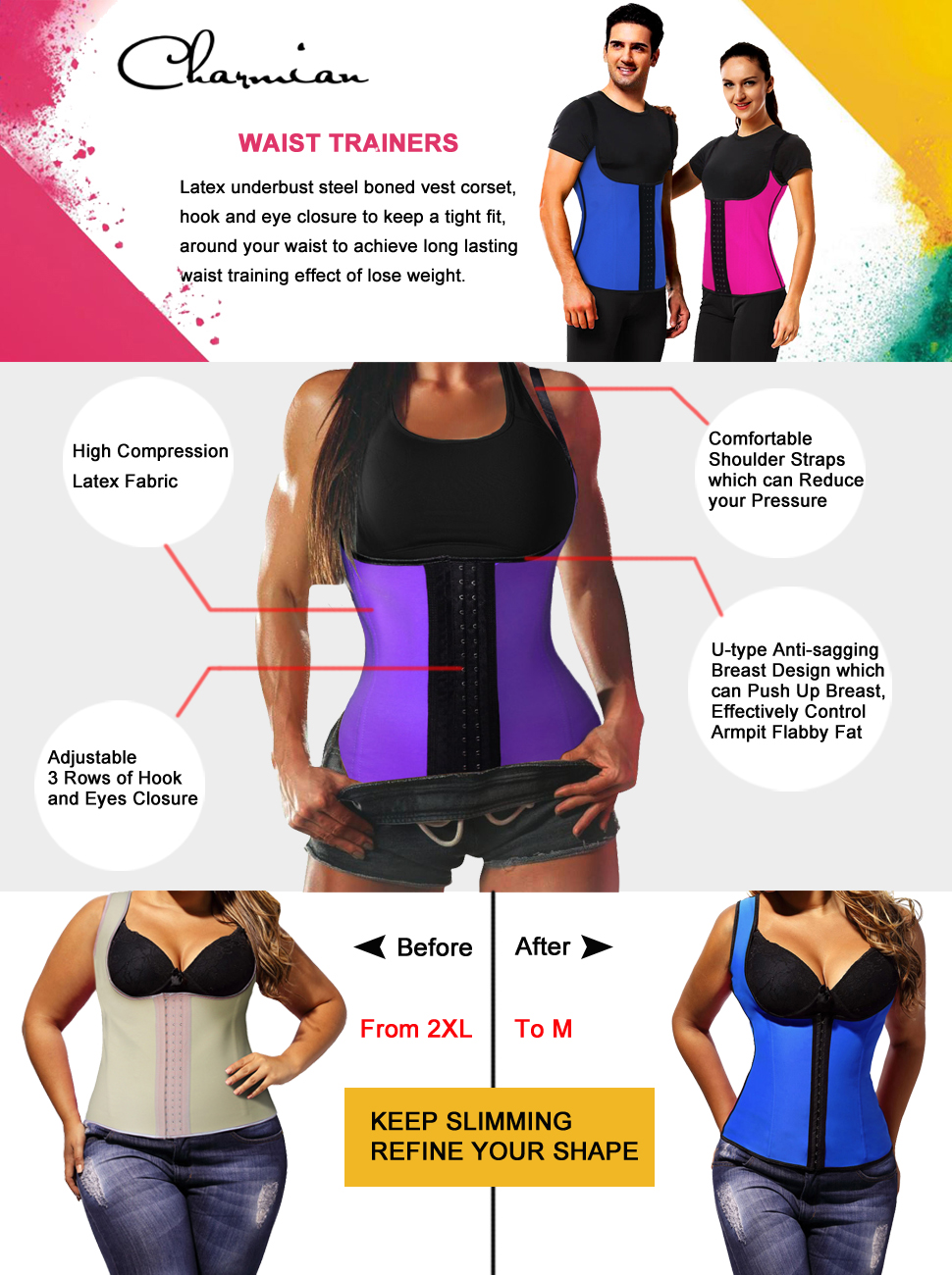 how to choose waist trainer size