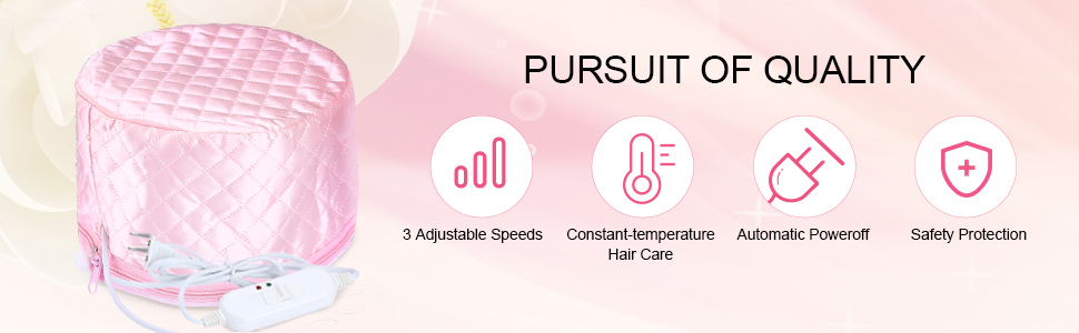 steamer cap for hair care
