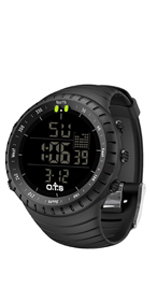 Amazon.com: PALADA Mens Digital Sports Watch Waterproof ...