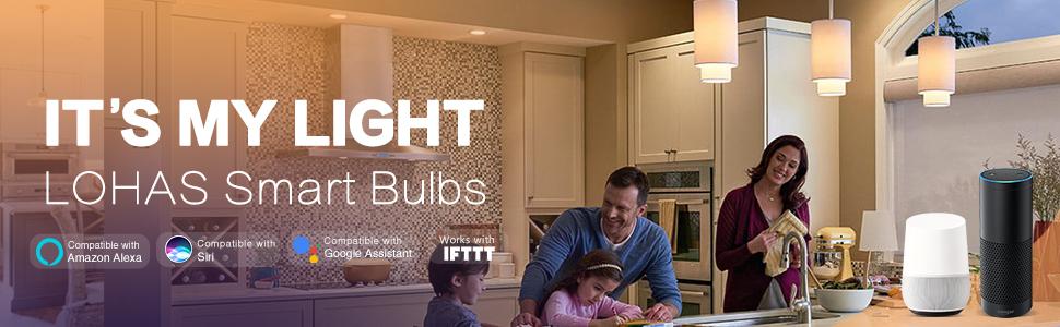 A19 smart light bulb