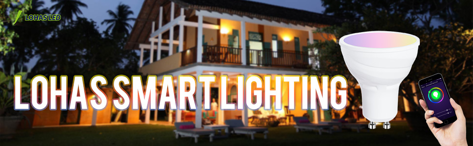 GU10 LED Smart Bulb