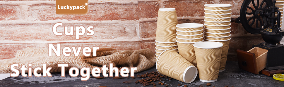 coffee cups banner