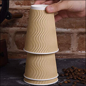 coffee cups never stick toger