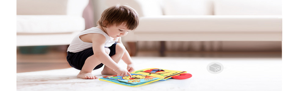 Soft baby book Quiet book pages for toddler Felt toy Christmas gift for godson