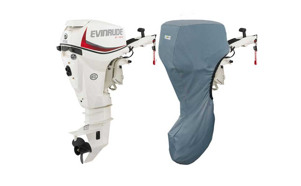 Oceansouth Evinrude Outboard Storage Full Cover E-Tec 2CYL 15H O, 25HP,  30HP 20