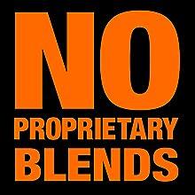 no proprietary blends