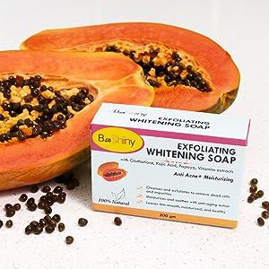 papaya healthy treatment acne scars dark remove