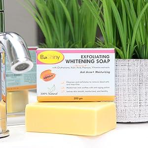 Soft Skin Lightening soap healthy