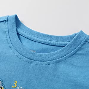 Dinosaur T-Shirt And Shorts for Toddler Summer outfits
