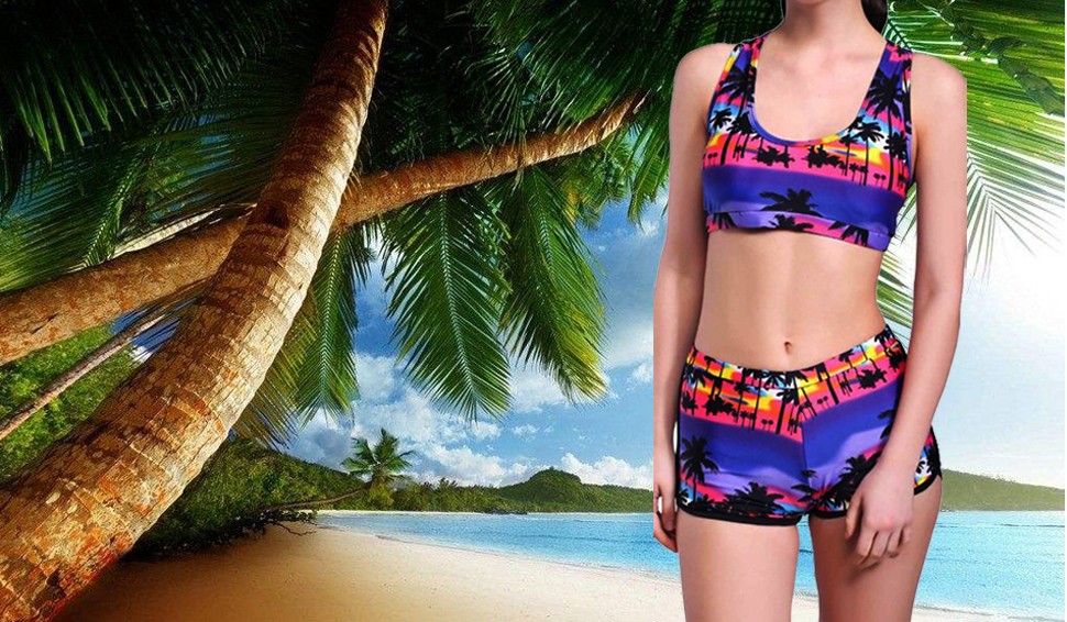 fbe2618189 QingLemon Fashion Swimsuit For Women Quiet Sports Padded Bikini Bathing  Suits