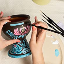 Small vase painting