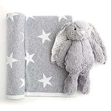 gift sets fluffy cozy blankets keepsake baby shower baby gifts ideas unisex boys girls blanket bunny