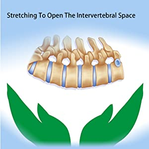 Using the back stretching device 1-2 times a day
