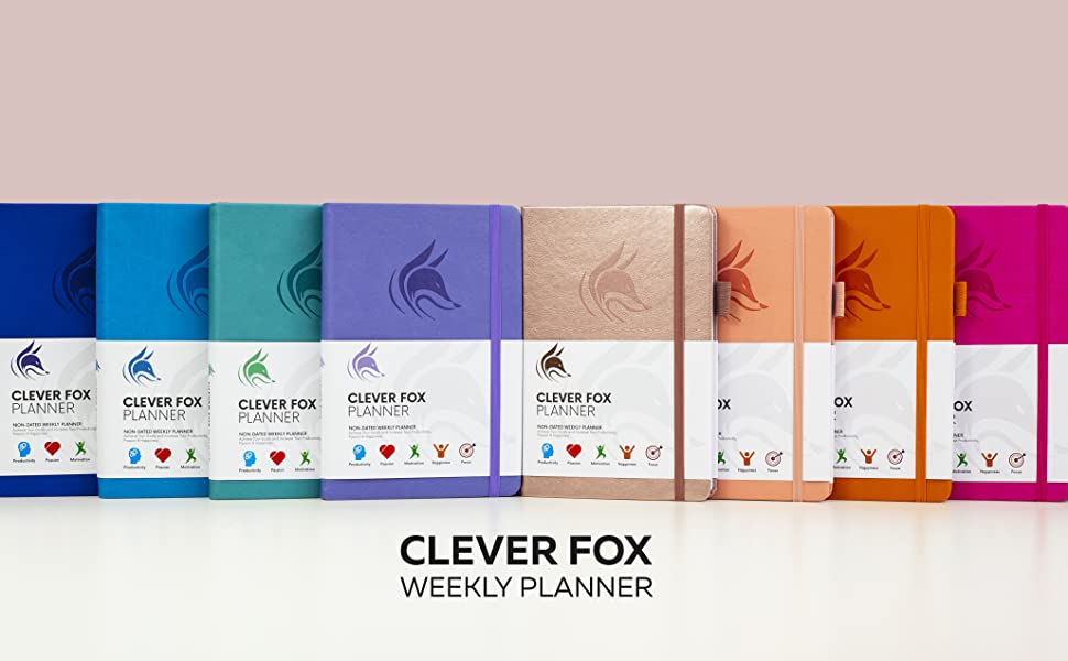 clever fox planner weekly