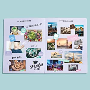 clever fox planner vision board