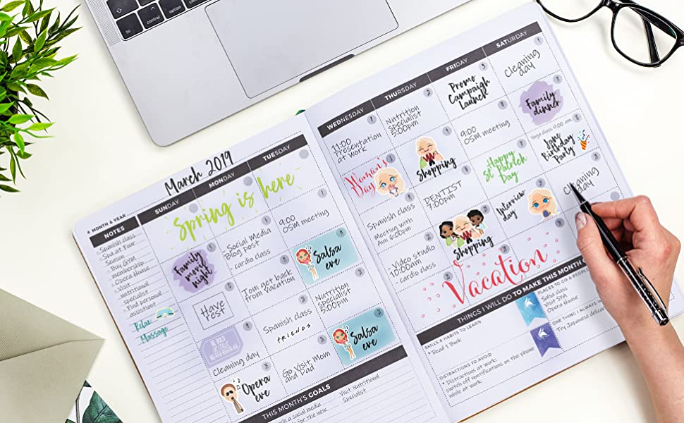 clever fox productivity life planner