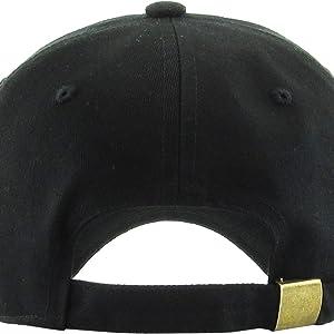 15fde2821b7 Amazon.com  KBSV-018 BLK Henny Dad Hat Baseball Cap Polo Style ...