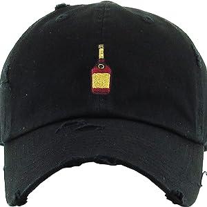 09543ec27 KBETHOS Henny Bottle Dad Hat Baseball Cap Polo Style Unconstructed